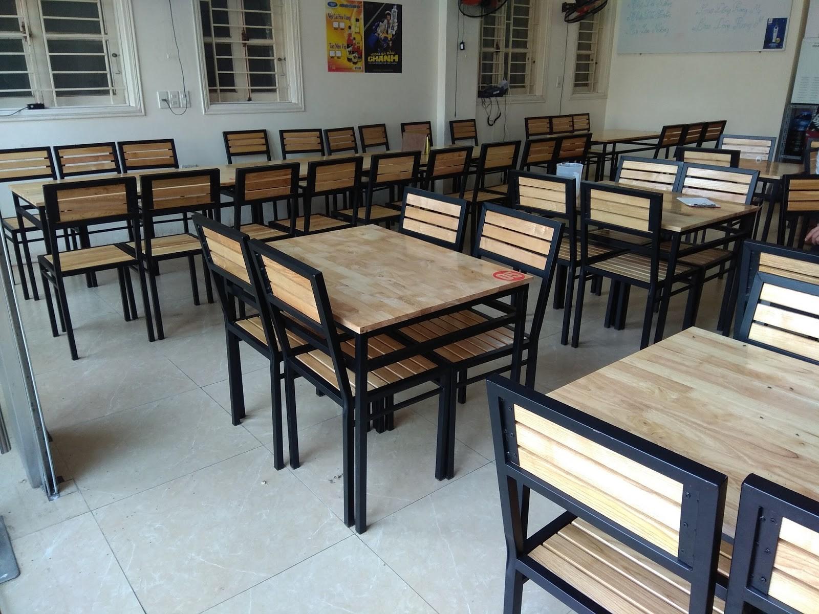 thu mua ban ghe quan an1 - Dịch vụ thu mua bàn ghế quán ăn tại Hà Nội